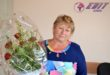 Flori pentru Galina JUC din Ocniţa!