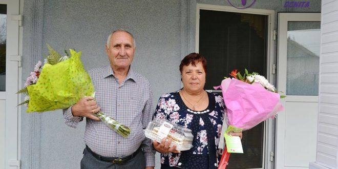 Поздравление для Дмитрия и Марии ГУНЕВОЙ, с. Корестэуцы, Окницкого район!