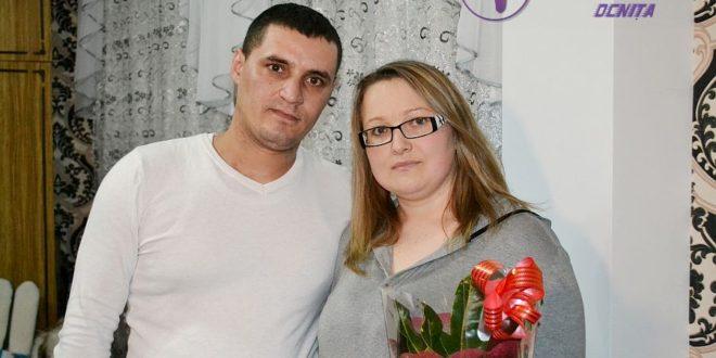 La Mulți Ani pentru familia ZOTA Maxim și Tatiana din comuna Ocnița, raionul Ocnița!