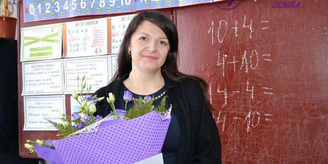 Flori pentru Aliona TABUICA, pedagog, gimnaziul «V. Tonu», Dîngeni, raionul Ocniţa!