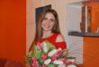 Flori pentru Cristina MUTU din Hincăuți, raionul Edineț!