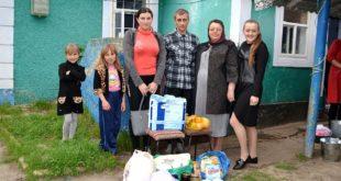 Первая беседа Богданы ФАРИНА с прессой про свою работу в Миссии Милосердия «Хлеб-жизни»