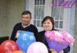 Поздравления с рубиновой свадьбой для семьи ХАРЛАН Вячеслав и Ирина, с. Наславча, Окницкий район!