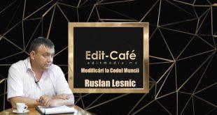 Interviu cu Ruslan LESNIC, inspector superior, Inspectoratul Teritorial de Muncă Edineț