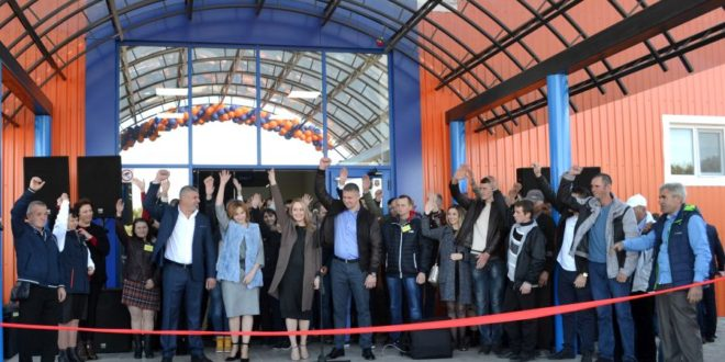 Deschiderea oficială a Centrului Comercial TINCOMERȚGRUP din Ocnița