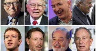 Doar 26 de miliardari dețin o avere egală cu jumătate din omenire
