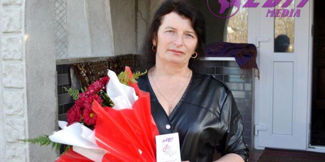 Flori pentru Angela Cebotari!