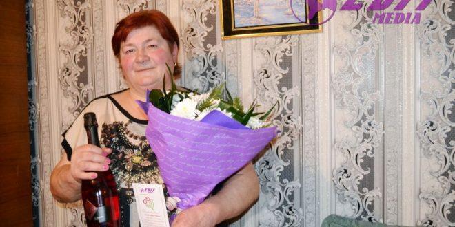 Flori pentru Tatiana Tomulescu, cu ocazia frumosului jubileu!