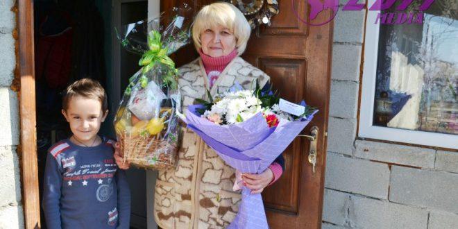 Felicitări pentru Valentina Papuc, cu ocazia frumosului jubileu!