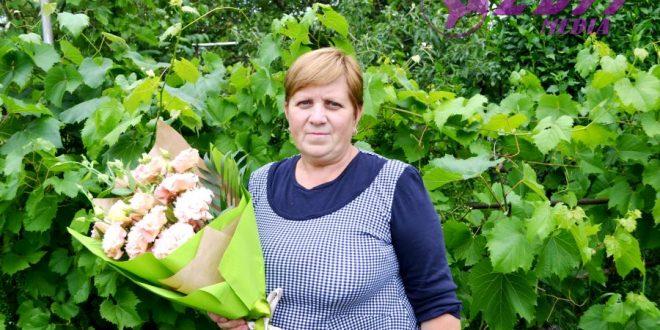 Flori pentru Ecaterina Gaină, cu ocazia frumosului jubileu!